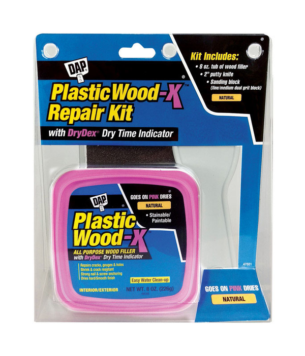 Dap Drydex Plastic Wood-X Repair kit w/ drydex Dry Time Indicator