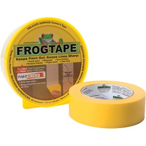 Yellow Frogtape Delicate Surfaces Painter's Tape