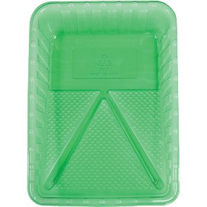Merit Pro 00182 Green Plastic Disposable Paint Tray