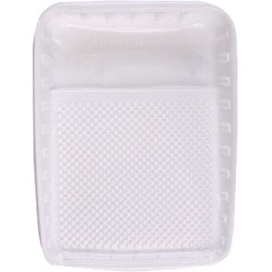 "Linzer 9"" Disposable White Tray Liner"