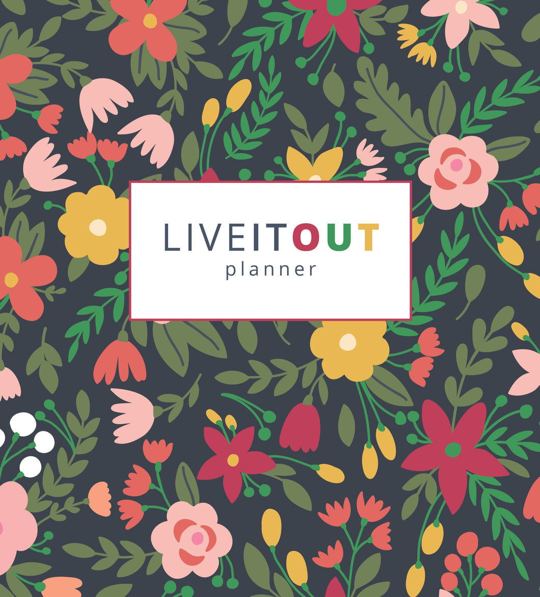 Live It Out Planner-Printable