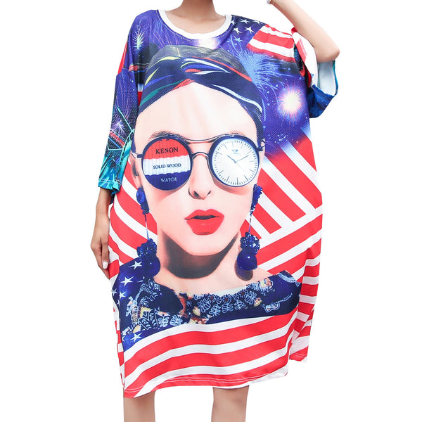 ellazhu Dress t Shirt Beach GA2041