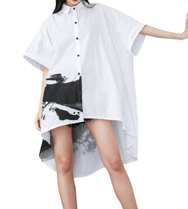 ❤ellazhu Shirt Dresses for Summer GY1827