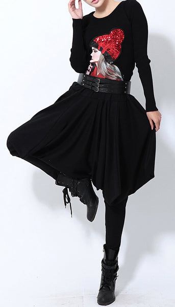 ellazhu Women Harem Pants Trousers GY508
