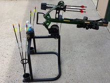 Load image into Gallery viewer, BSS-1 THE Original BOWSHOOTERS STATION- Black color