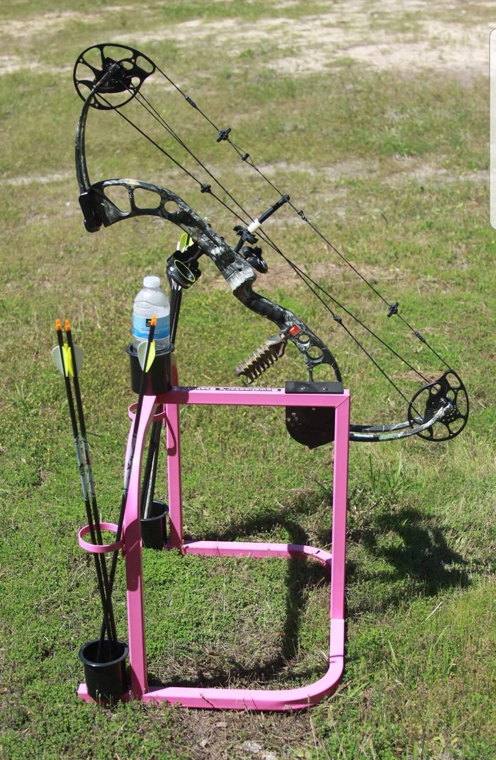 BSS-2 THE Original BOWSHOOTERS STATION- Pink color