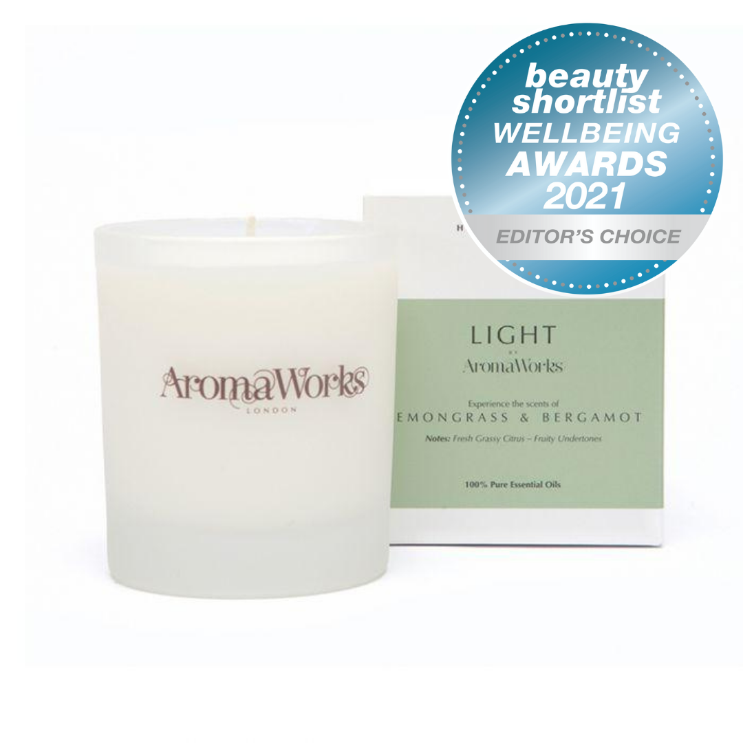 Light Range Lemongrass & Bergamot Candle 30cl Medium