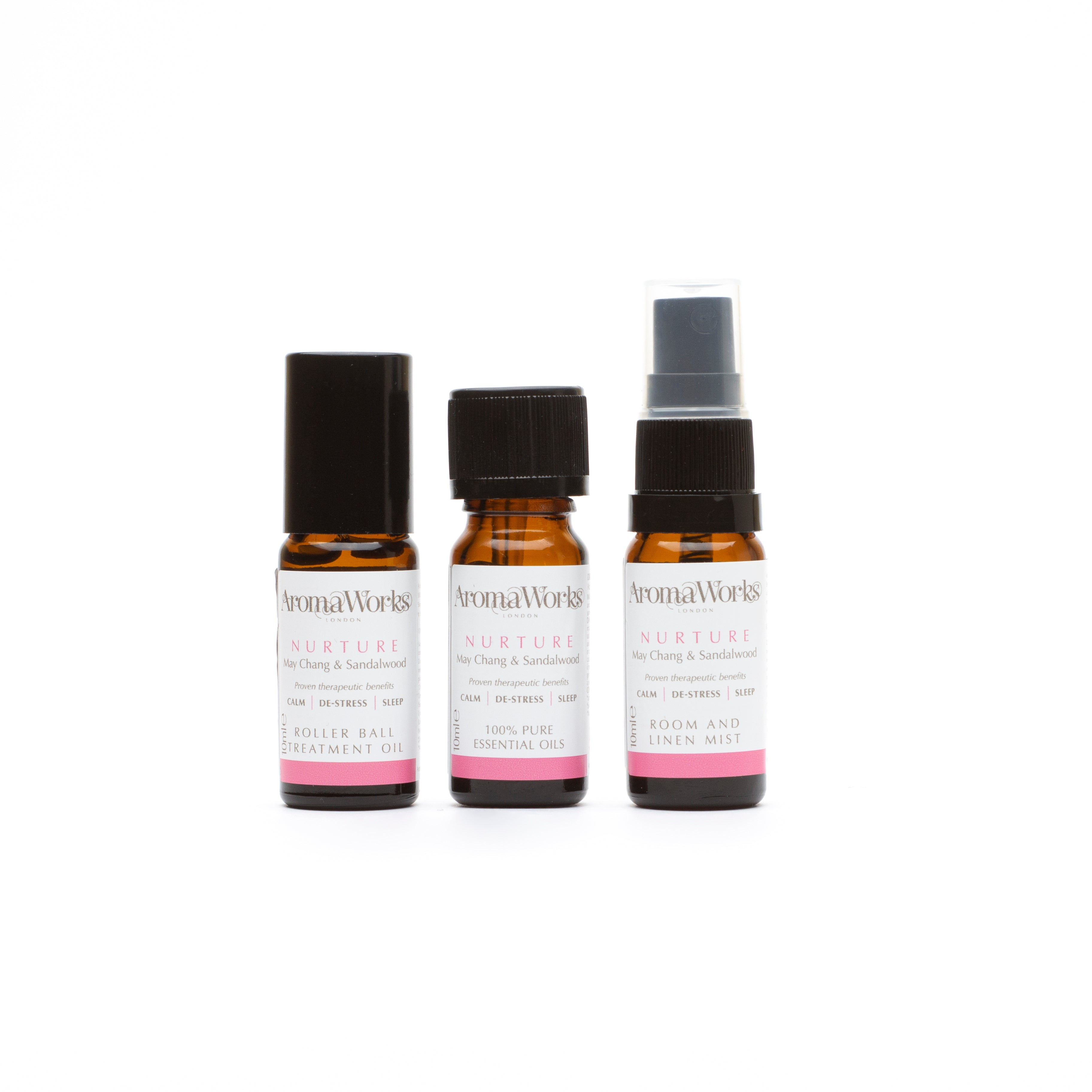 Nurture Wellbeing Trio 3 x 10ml products