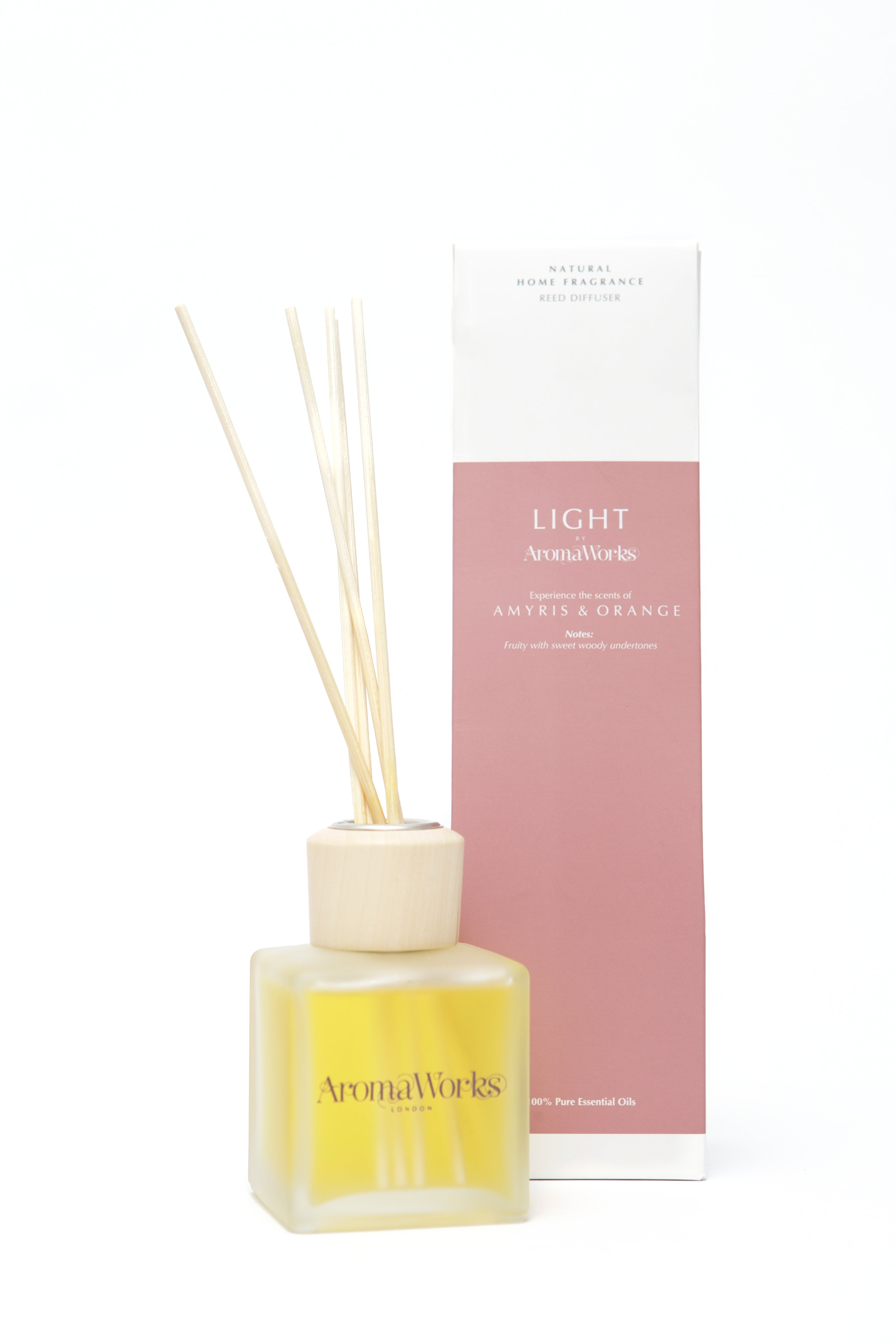 Light Range Amyris & Orange Reed Diffuser 100ml