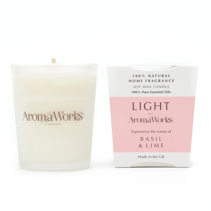 Light Range Basil & Lime Candle 10cl Small