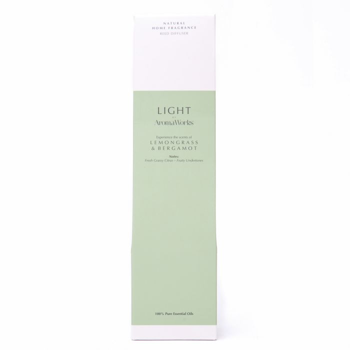 Light Range Lemongrass & Bergamot Reed Diffuser
