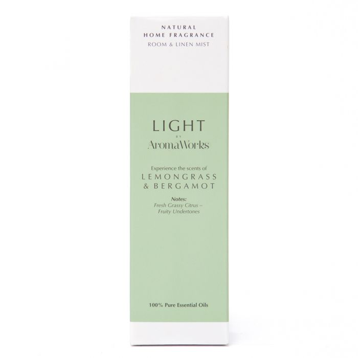 Light Range Lemongrass & Bergamot Room Mist
