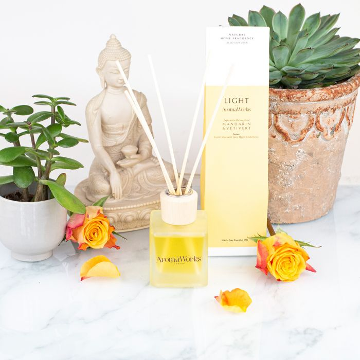 Light Range Mandarin & Vetivert Reed Diffuser