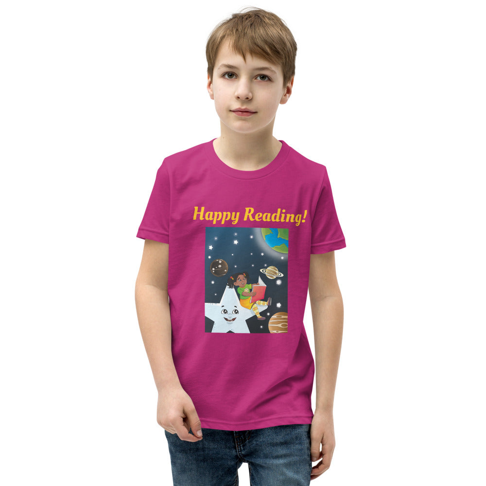Happy Reading! Youth Short Sleeve T-Shirt