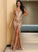Load image into Gallery viewer, Amber Gold Gown