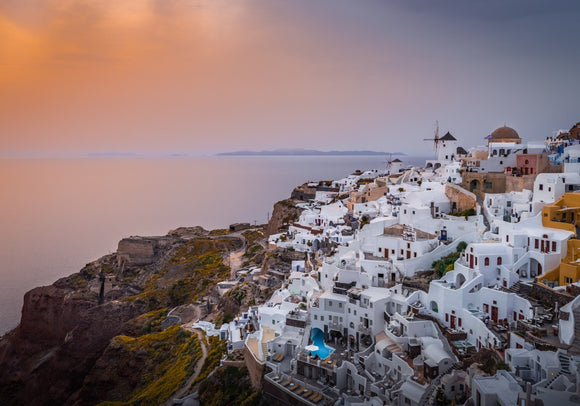 Splash of Light! - Oia, Santorini