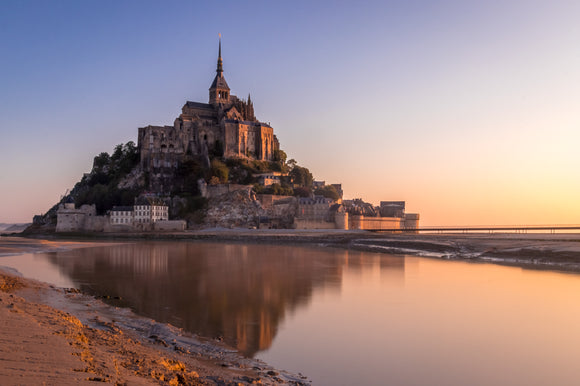 A fantasy sunrise! (LIMITED EDITION)- Mont Saint-Michel, France