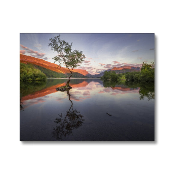Llyn Padarn - Snowdonia National Park, Wales, United Kingdom Canvas