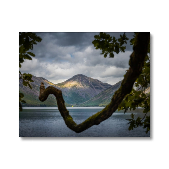 Triangles - Wast Water, Lake District, United Kingdom Canvas