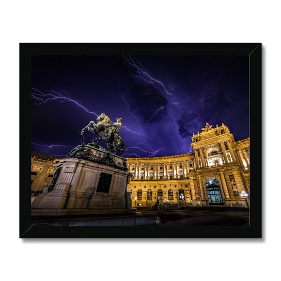 Sword of Lightning! - Hofburg Palace, Vienna Framed Print - Sydspicsprints