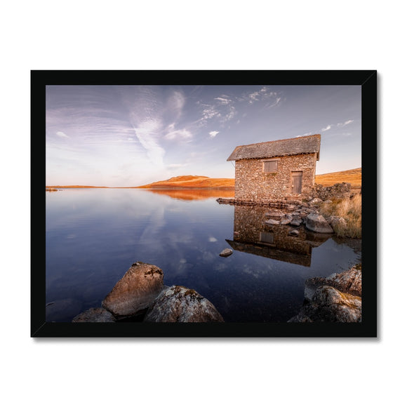 Cumbrian Reflections - Devoke Water, Lake District, United Kingdom Framed Print