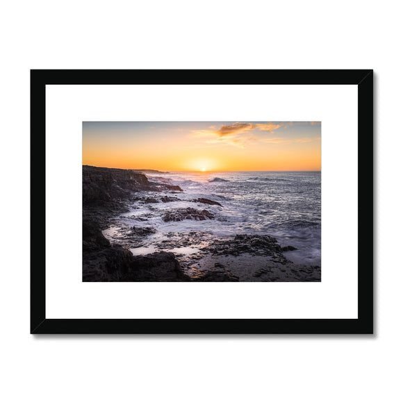 Where forces of nature collide! - Janubio, Lanzarote Framed & Mounted Print