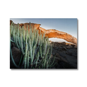 Roots of the Island! - Arco de Tajao, Tenerife Canvas