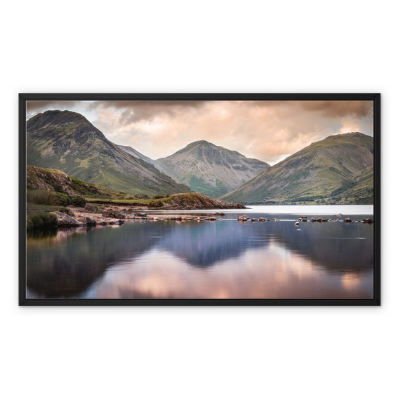 Trinity - Wast Water, Lake District, United Kingdom Framed Canvas
