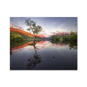 Llyn Padarn - Snowdonia National Park, Wales, United Kingdom Fine Art Print