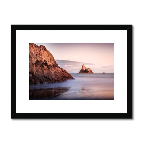 Church Rock - Pembrokeshire, Wales, United Kingdom (LIMITED EDITION) Framed & Mounted Print