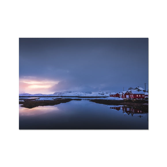 Wee hole in the clouds - Lofoten (LIMITED EDITION) Fine Art Print