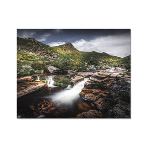 Carved by water - Tavy Cleave, Dartmoor Fine Art Print - Sydspicsprints