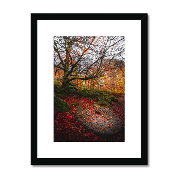 Times Gone By! - Padley Gorge, Peak District (LIMITED EDITION) Framed & Mounted Print