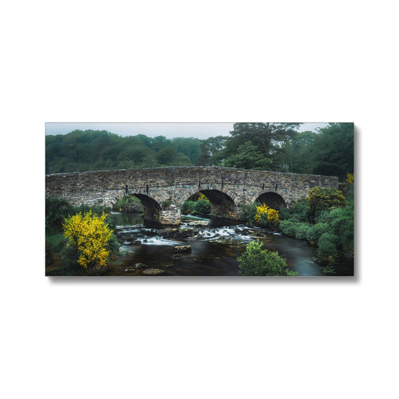Yellow and Green - Postbridge, Dartmoor Canvas - Sydspicsprints