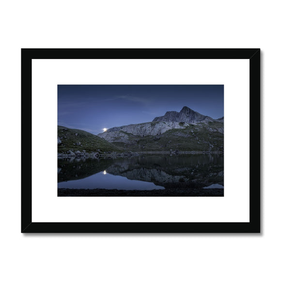 Moonshine - Snowdonia National Park, Wales, United Kingdom Framed & Mounted Print