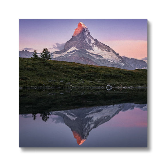 Crown of Fire! - Leisee, Switzerland Canvas