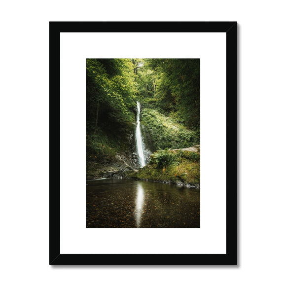 The White Lady - Lydford Gorge, Dartmoor Framed & Mounted Print