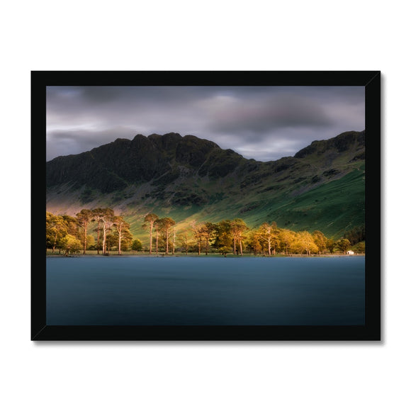 Guarding the Lake! - Buttermere Sentinels, Lake District Framed Print