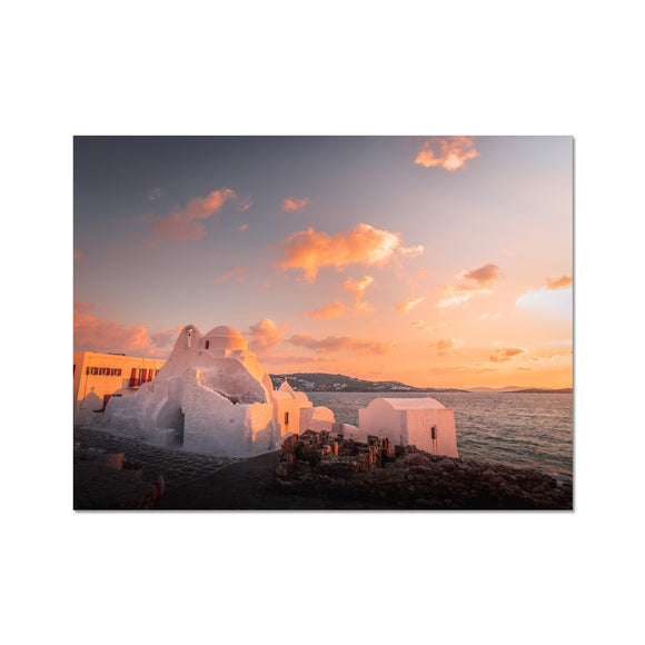 Holy Sunset! - Mykonos, Greece Fine Art Print - Sydspicsprints