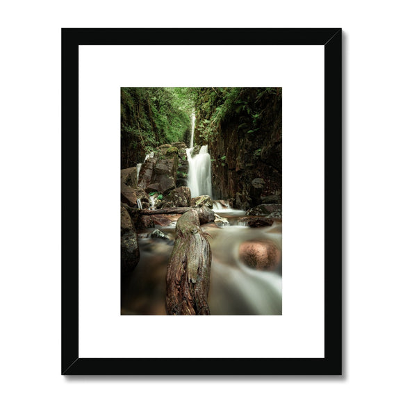 Smoothed! - Scale Force, Lake District Framed & Mounted Print