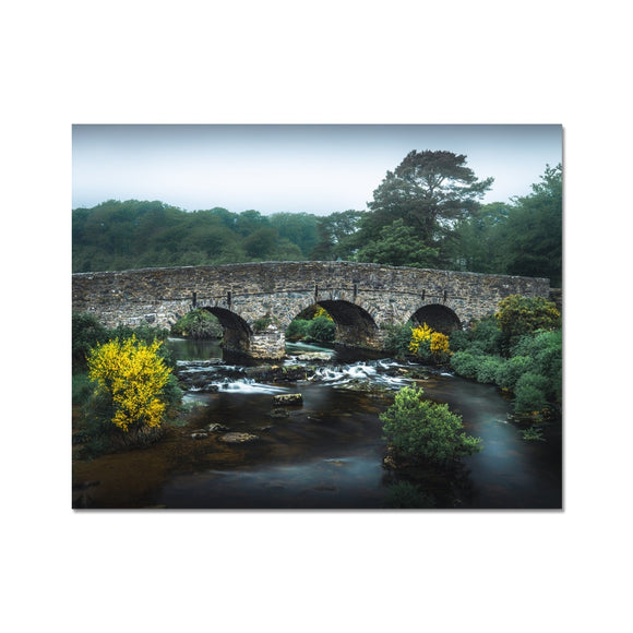 Yellow and Green - Postbridge, Dartmoor Fine Art Print - Sydspicsprints