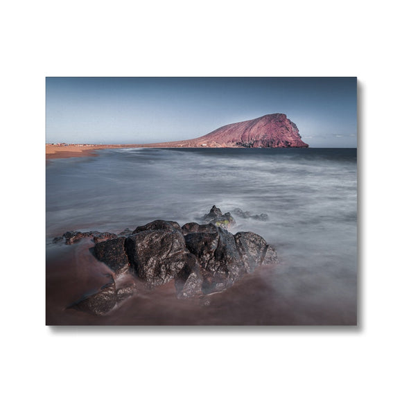 The Red Mountain! - Montana Roja, Playa de la Tejita, Tenerife Canvas