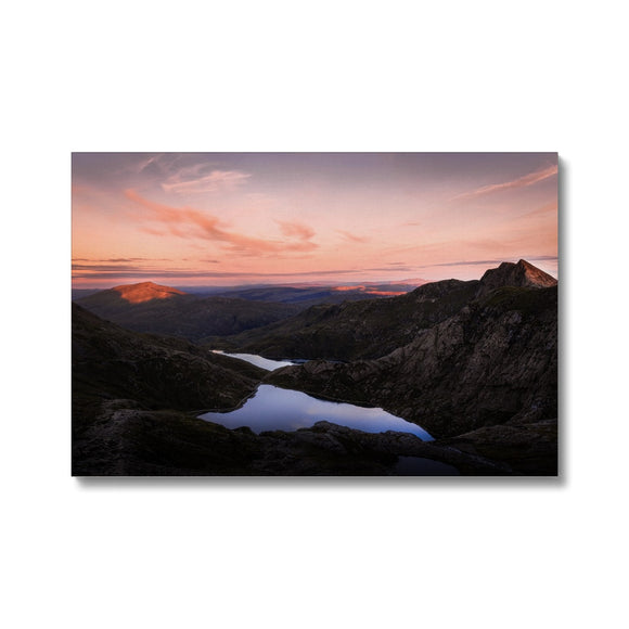 Mt. Snowdon - Snowdonia National Park, Wales, United Kingdom Canvas