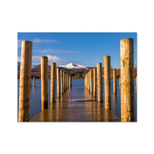 Into the water - Derwent Water, Lake District Fine Art Print