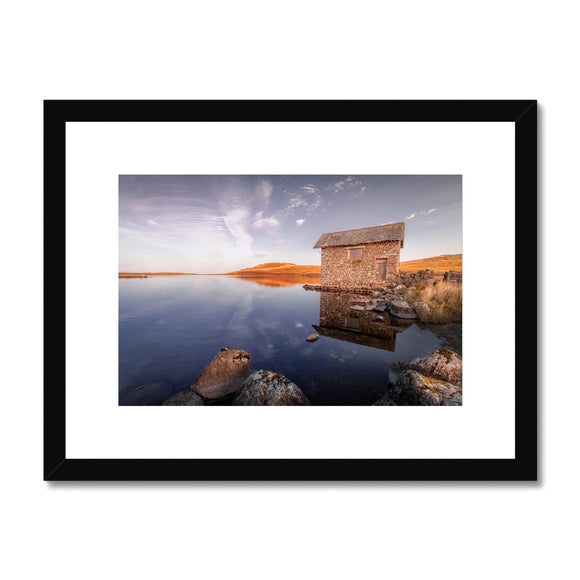 Cumbrian Reflections - Devoke Water, Lake District, United Kingdom Framed & Mounted Print