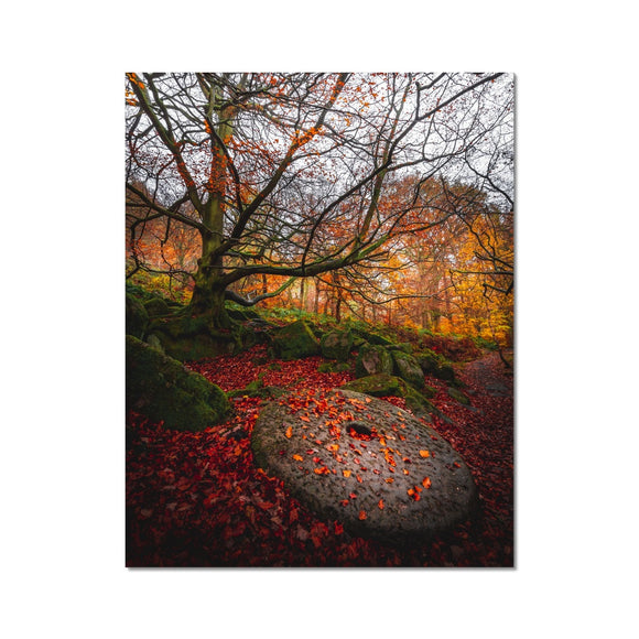 Times Gone By! - Padley Gorge, Peak District (LIMITED EDITION) Fine Art Print