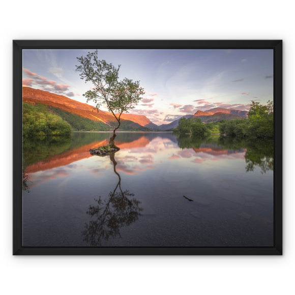 Llyn Padarn - Snowdonia National Park, Wales, United Kingdom Framed Canvas