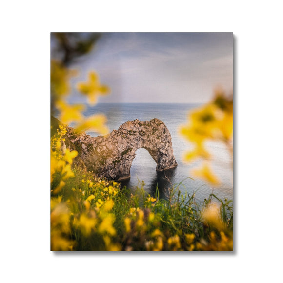 Framed! - Durdle Door, Jurassic Coast Canvas - Sydspicsprints