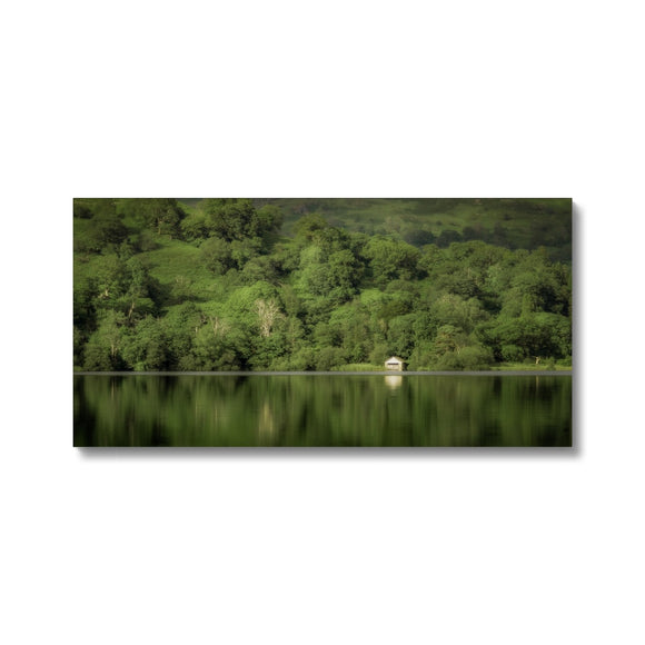 Dream in Green - Rydal Water, Lake District, United Kingdom Canvas