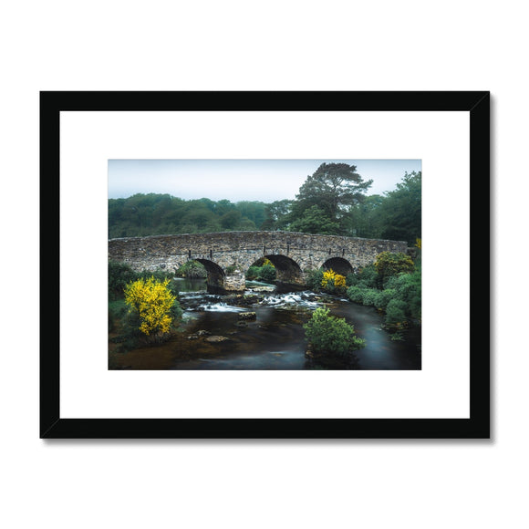 Yellow and Green - Postbridge, Dartmoor Framed & Mounted Print